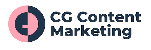 CG Content Marketing Sticky Logo