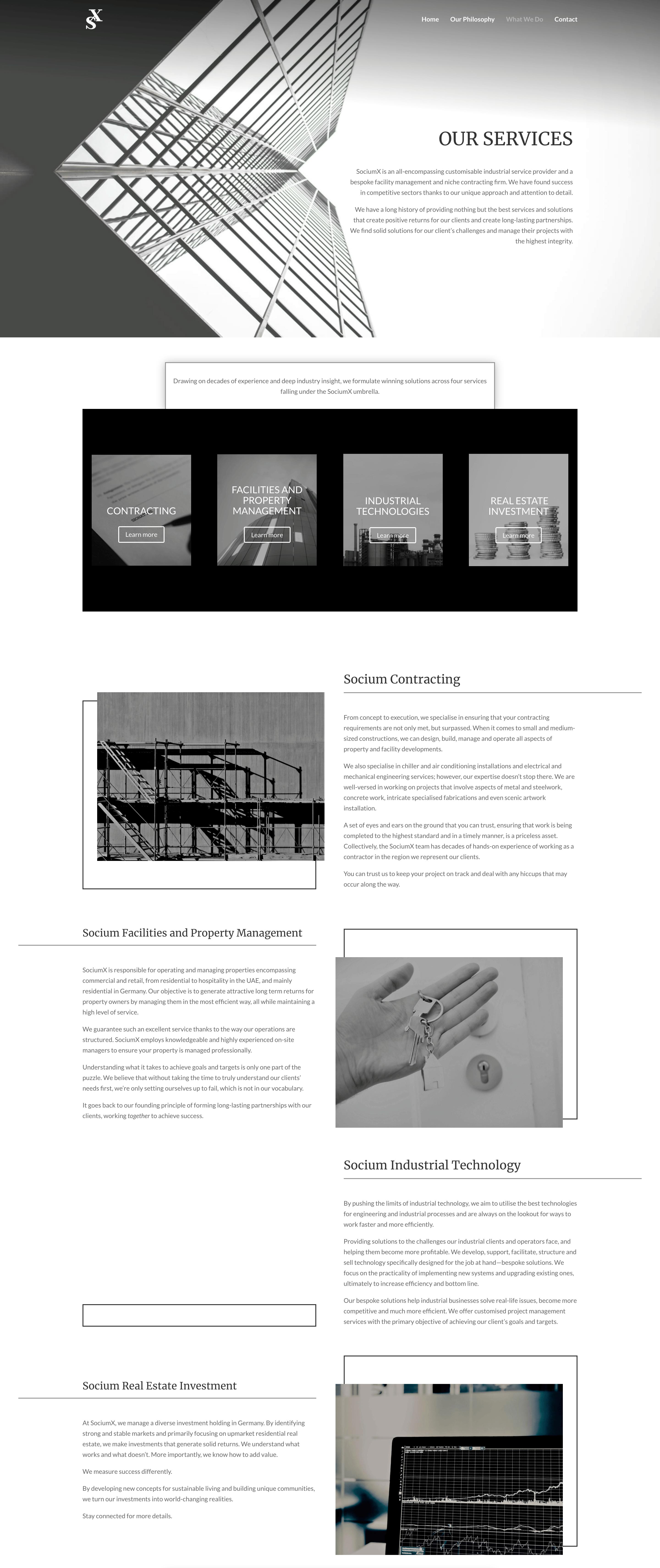 SociumX Web Page Copy
